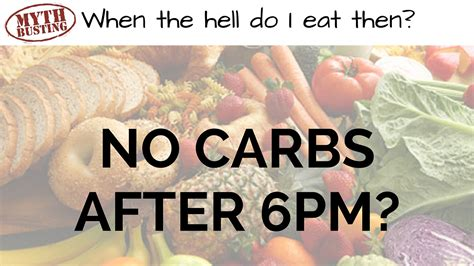 carbohydrates after 6pm myth busting carbs after 6pm will make you