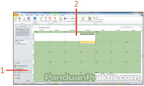 cara membuat undangan meeting di outlook konferensi video hd multipartai di lync 2013