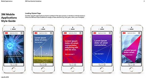 3m mobili julie 3m mobile application visual guidelines