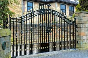 Cheap Mobile Home Exterior Doors - wrought iron gates and fencing made to measure j f fabrications chesterfield