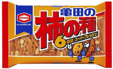 Kameda Kakinotane 6p 亀田製菓のおすすめ好きな米菓ランキングベスト5 あしみの 日記