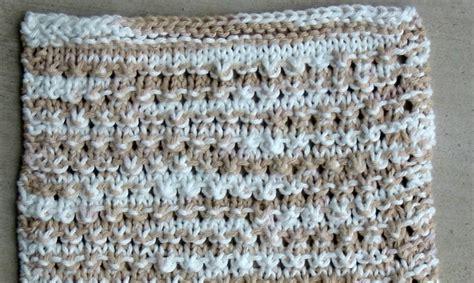 knitting ridges knit with kt eyelets and ridges cloth