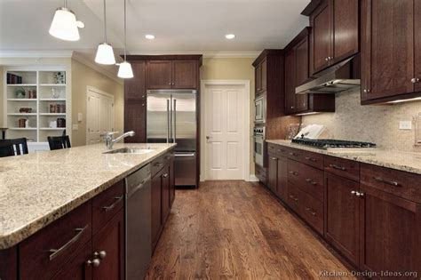 dark walnut kitchen cabinets oak floors with dark walnut cabinets something for mom
