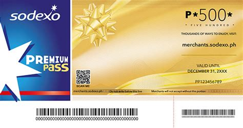 Sodexo Gift Card - sodexo premium pass for business philippines