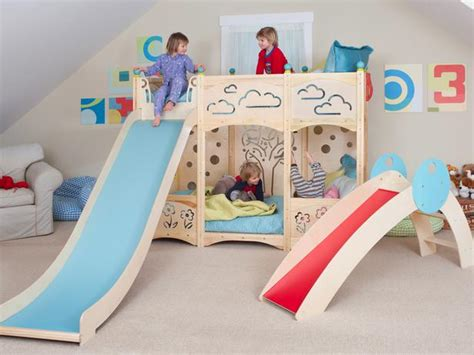 toddler bunk bed with slide stylish kids bunk beds kids room ideas for playroom