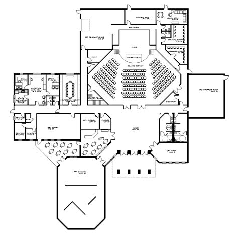 One Arts Plaza Floor Plans gallery for gt performing arts center floor plan