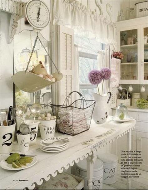 vintage shabby chic home decor 35 awesome shabby chic kitchen designs accessories and