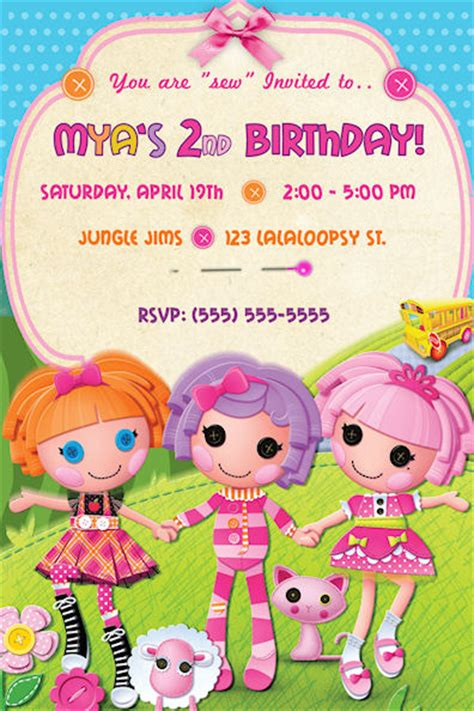 lalaloopsy birthday invitations party invitations ideas lalaloopsy images lalaloopsy wallpaper and background