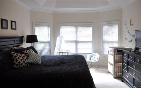 nursery in master bedroom shared nursery and master bedroom new baby pinterest