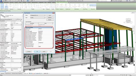 structural section properties revit rants 2014