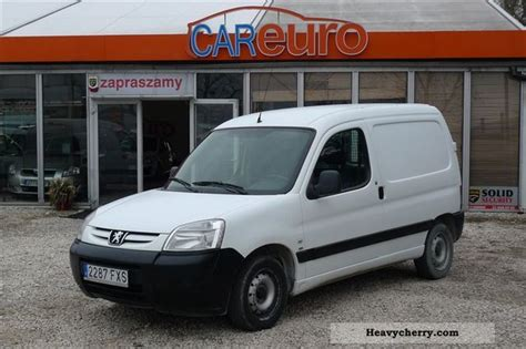 peugeot partner 2007 peugeot partner 2007 other vans trucks up to 7 photo and specs