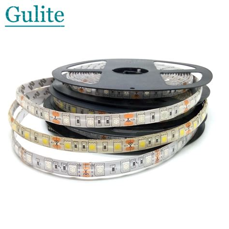 Led Strip 5050 Rgb Lights 12v Flexible Home Decoration