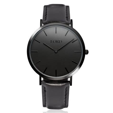 classic all black classic s watches lord