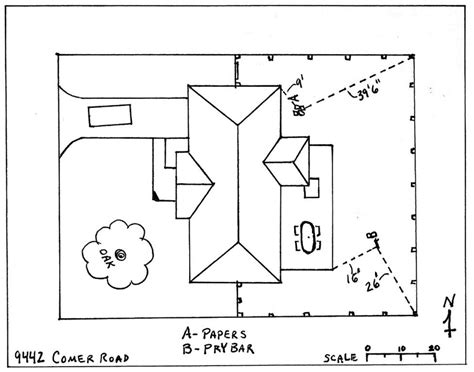 Sle Crime Scene Coloring Pages Crime Sketch Template