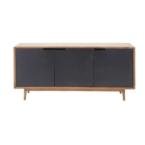 Buffet And Sideboard Tables Solid Mango Wood Sideboard W 160cm Lenox Maisons Du Monde