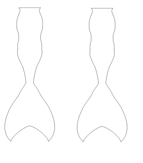 mermaid tail template by mlp adoptable on deviantart