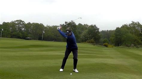luke donald swing luke donald new slow motion swing sequence youtube