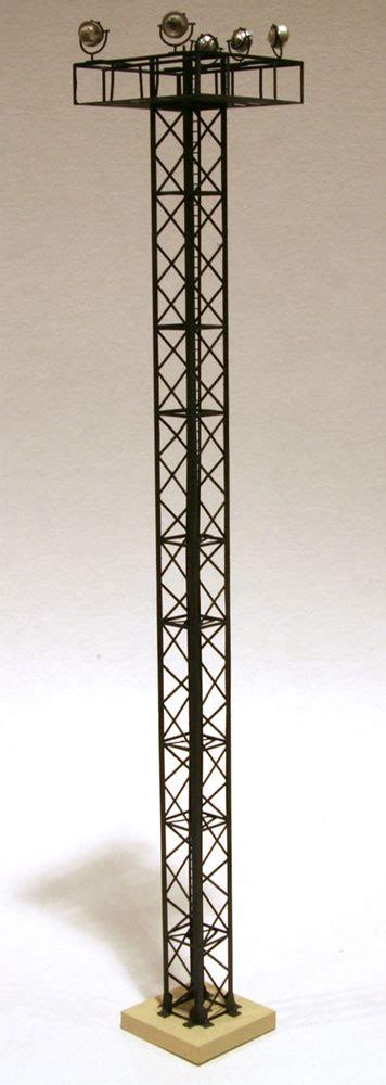 n scale yard lights yard light tower alkem scale models