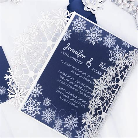 grey winter wedding invitations ewi411 as low as 0 94