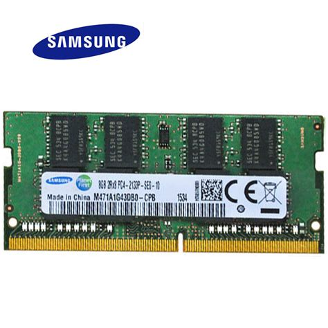 Ram Ddr4 Laptop Vgen samsung ddr4 memory ram 4gb 8gb 2133 laptop memoria dram stick for asus dell in rams from