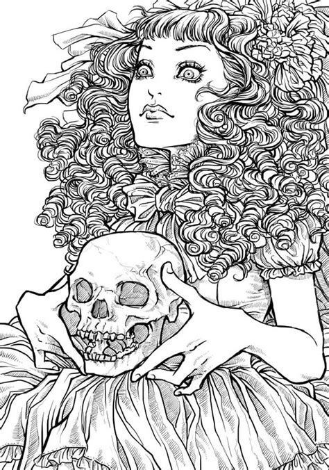 halloween coloring pages detailed free printable halloween coloring pages for adults best