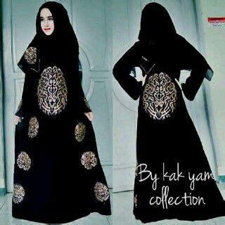 Abaya Hitam Arab Saudi Kode 84 abaya kaligrafi by kak yam collection butik jahit pesan jual baju gaun gamis