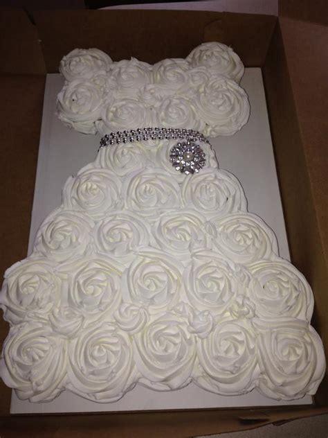 bridal shower cupcake dress cake stunning wedding dress on wedding dress cupcake cake jemonte