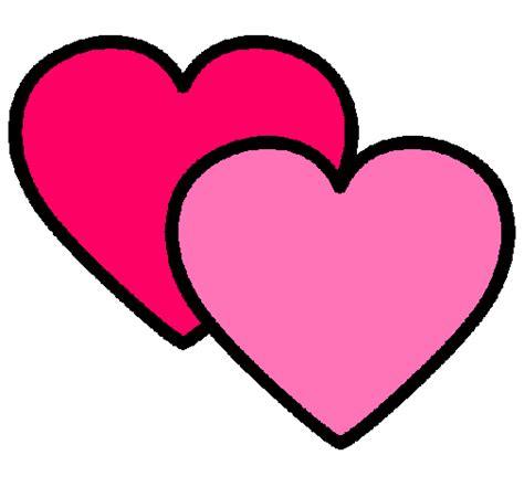 imagenes de corazones jpg dibujo de corazones pintado por piolin en dibujos net el