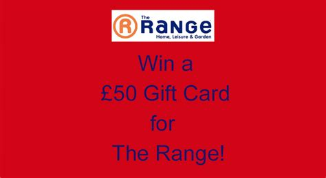 The Range Gift Card - competition win a 163 50 gift card for the range with plastikote spray paint spray