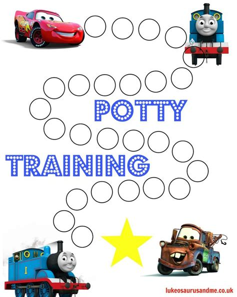 printable potty training reward chart uk free printable thomas and cars potty training chart http
