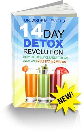 14 Day Detox Revolution Program the alternative daily special report 3 warm liquids that
