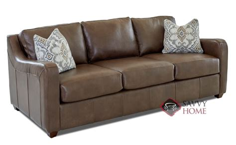 savvy leather sofas glendale leather sofa by savvy is fully customizable by