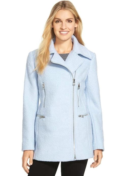light blue winter coat would you wear a light blue coat for winter whowhatwear