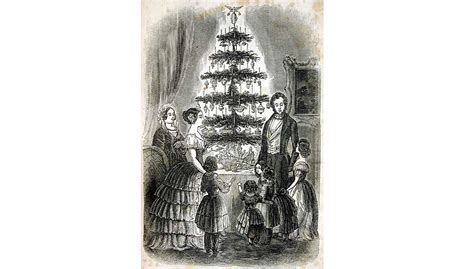 the origin and history of the christmas tree from