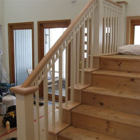 staircase railing replacement croselemkecom staircase railings home projects kids house