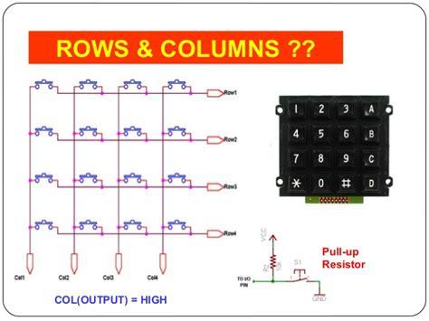 pull up resistor keypad pull up resistor keypad 28 images anvyl refmanual reference digilentinc serial keypads made