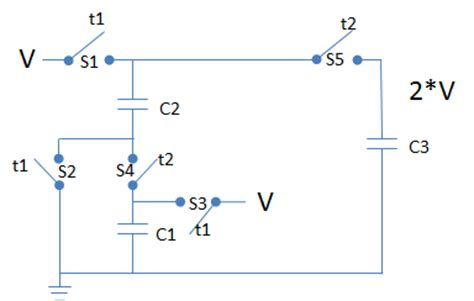 how does a capacitor circuit work how does capacitors work in a voltage doubler circuit quora