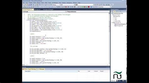 design form runtime vb net how to show form designer in microsoft visual studio 2010