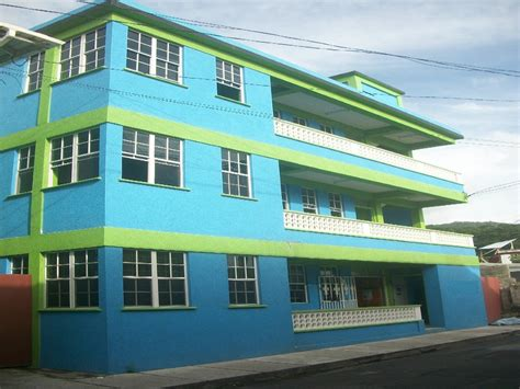 three story building modern 3 story commercial building in roseau dominica