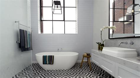 bathroom ideas without tiles budget bathrooms give your bathroom a new look without a