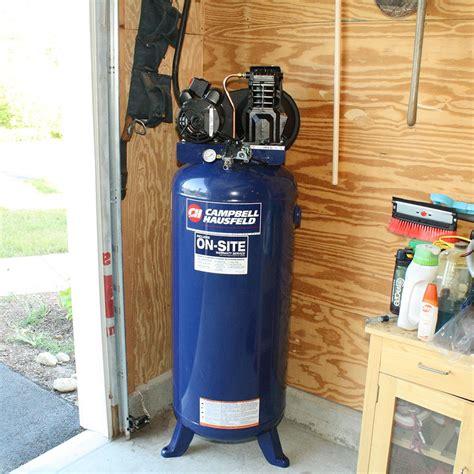 Garage Compressor workshop compressed air for garage and woodworking