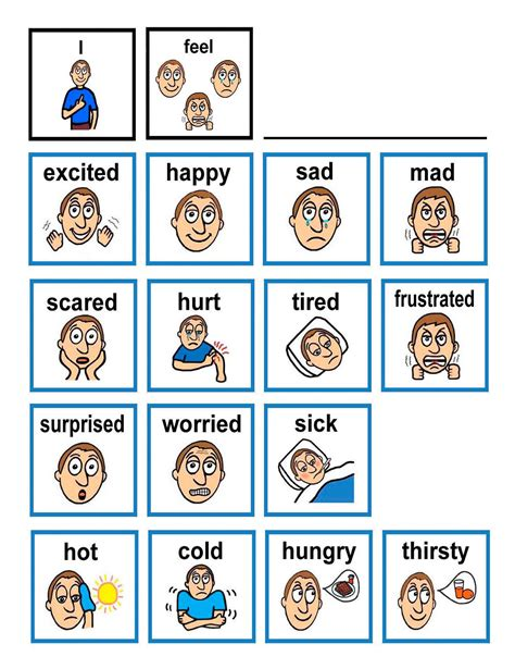 emotions cards from teacher treasures mary s freebie page emotion flash cards children with autism often have