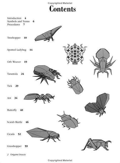 Origami Insects And Their Kin - 위기주부의 미국서부여행과 la생활 곤충 종이접기 취미 robert j lang 오리가미 인섹트