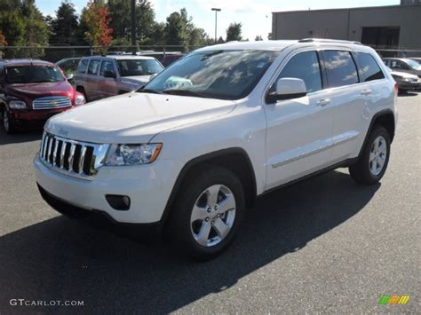 2012 Stone White Jeep Grand Cherokee Laredo X Package 4x4