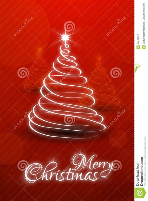 Christmas Card Template Stock Vector Image Of Copy Vector 34402787 Cards Free Templates