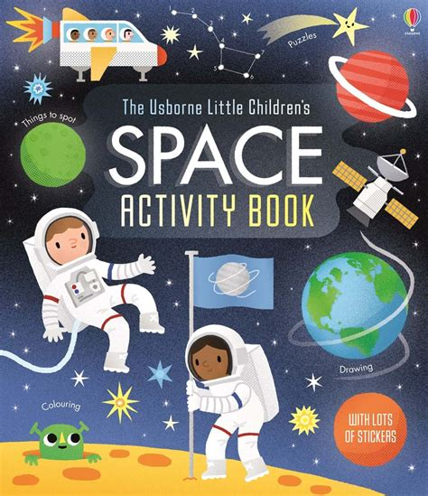 space picture books children s space activity book at usborne books
