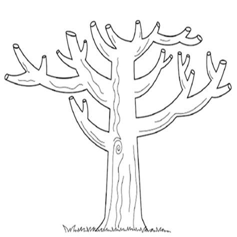 imagenes arboles otoño impresionante dibujo de un tronco de arbol para colorear
