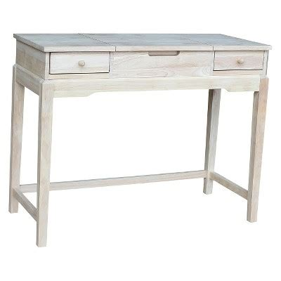Unfinished Wood Vanity Table Vanity Table Unfinished International Concepts Target