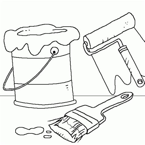 coloring pages paint free coloring pages of paint can