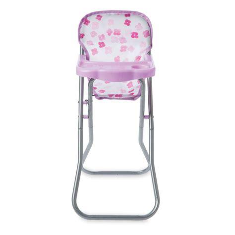 baby doll high chair set nurturing baby doll baby stella blissful blooms high